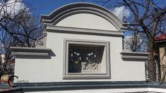 Fronton cu Panou Decorative elemente Florale si Arcada Window Design, Exterior, Windows, Profile, Home, Decor, User Profile, Decorating, House