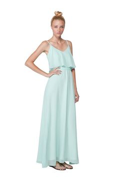 Joanna August Dani Long Style Bridesmaid Dress | Weddington Way