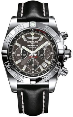 @breitling Watch Chronomat 44 Carbon Black #add-content #bezel-unidirectional #bracelet-strap-leather #case-depth-16-95mm #case-material-steel #case-width-44mm #chronograph-yes #cosc-yes #date-yes #delivery-timescale-1-2-weeks #dial-colour-black #gender-mens #luxury #movement-automatic #official-stockist-for-breitling-watches #packaging-breitling-watch-packaging #style-sports #subcat-chronomat #supplier-model-no-ab011012-m524-435x #warranty-breitling-official-2-year-guarantee...