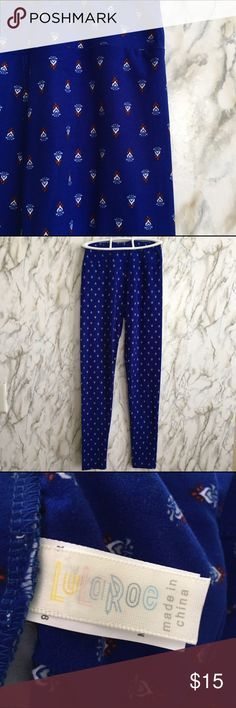 LuLaRoe Leggings One Size Leggings, excellent used condition, No pilling, No stains, No smoking Home LuLaRoe Pants Leggings
