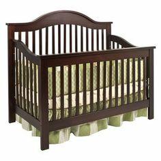 DaVinci Jayden 4-in-1 Convertible Crib with Toddler Rail in Espresso