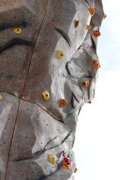 Alfonz is doing a little rock climbing #elfontheshelf #adventurepark #crestedbutte