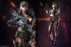 This HD wallpaper is about CrossFire, Switcher, Original wallpaper dimensions is file size is Live Wallpaper For Pc, New Image Wallpaper, Crossfire, Female Character Design, 3d Character, Concept Weapons, Fantasy Warrior, Woman Warrior, Final Fantasy