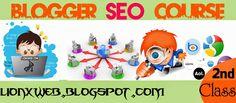 Blogger SEO 2nd Class | It Technology