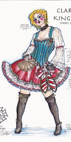 Clarisa - KING STAG Isabel Rubio Costume Designer Local 829 > Showcase Gallery