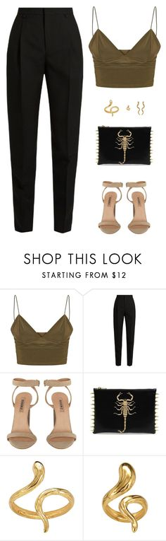 """Sin título #4709"" by mdmsb on Polyvore featuring moda, Yves Saint Laurent y Madina Visconti di Modrone"