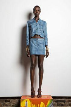 NYFW S/S 14 - Peças-chave em denim no desfile de Veronica Beard - Notícias - Guia JeansWear : O Portal do Jeans