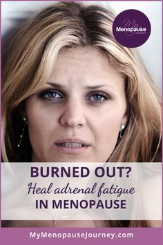 Feeling exhausted and depressed? Do you lack enthusiasm to go about your day? Adrenal fatigue can affect you in many ways! Learn how you can reverse this condition and feel better again! Menopause Signs, Menopause Diet, Post Menopause, Menopause Symptoms, Menopause Humor, Menopause Fatigue, Adrenal Fatigue Treatment, Adrenal Fatigue Symptoms, Adrenal Diet