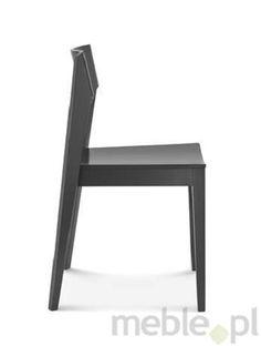 Niezwykle nowoczesne drewniane krzesło A-1319 dostępne także z tkaniną na siedzisku, Fameg - Meble
