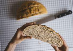 Pan semi integral con semillas