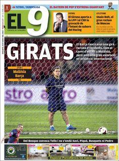 Prensa deportiva del 10 de Agosto 2013