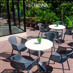 Silla #Sierra  Silla de polipropileno perfecta para ambientes de terrazas