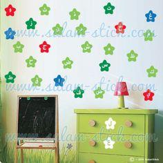 Sticker alphabet arabe #walldecal #homedeco #homedecor #arabicart #Stickers #sticker #wallstickers #decals #arabicstickers #alphabet