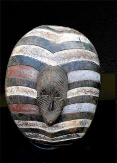 Songye Ceremonial Shield Dr Congo