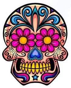 Graphic Mexican Skull | sugar skull graphics graphics and comments