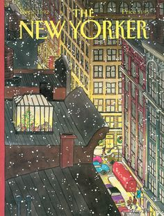 The New Yorker - Monday, December 7, 1992 - Issue # 3538 - Vol. 68 - N° 42 - Cover by : Roxie Munro