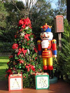 World Showcase - Germany - Christmas Decorations by disneylori, via Flickr