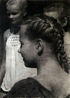 Figure Painting, Figure Drawing, Magic Realism, Ballet, Portraits, Chiaroscuro, Paris, Beautiful Artwork, Figurative Art