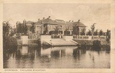Vintage Postcard - Groningen Paviljoen Stadspark