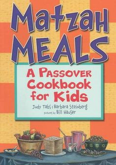 A Passover cookbook with an emphasis on matzos that includes crafts for and information on Passover and the Seder.