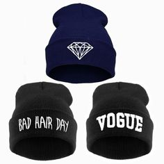 Shop Beanies and Skullies at 9th Wave. Bad Hair Day, Vogue, and Diamond Beanies. Free shipping. - 14 Day Hassle free return policy. - Allow 3 to 6 weeks for delivery. - Safe and secure checkout.