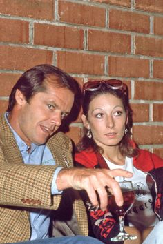 Jack and Anjelica.