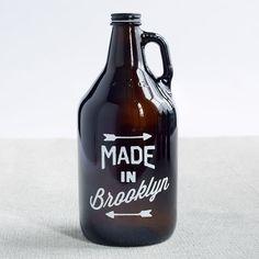 Made in Brooklyn Growler | West Elm Market