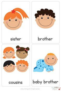 Baby Flash Cards Free Unique there are 28 Brightly Coloured High Quality Printable English Primary School, Teaching English, Classroom Activities, Activities For Kids, Baby Flash Cards, Preschool Family, Flashcards For Kids, Vip Kid, Family Theme
