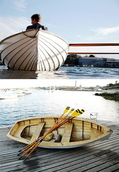 Bailman Boat Kit - In a mere 100-hours of your free time you can build this wooden rowboat from the ground up. The DIY kit from Balmain Boats includes everything you need except the initiative. | Werd