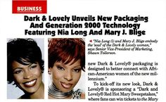 Jet Magazine Sep 18, 2000 Dark & Lovely Article .. 1998: Carson Inc., creator of Dark & Lovely and Magic Shave for black men, acquires black-owned beauty company Johnson Products of Chicago in 1998. L'Oreal purchases Carson two years later and merges it with Soft Sheen.