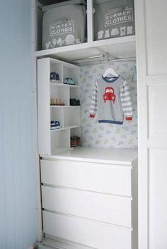 Opbergen in smalle hoekjes of kleine babykamers