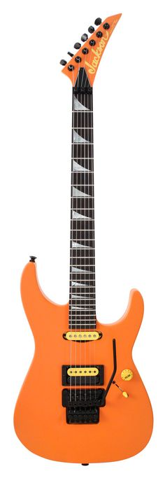 Jackson Custom Shop Soloist Satin Orange and Yellow
