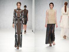 #womenswear designed by Marios Schwab