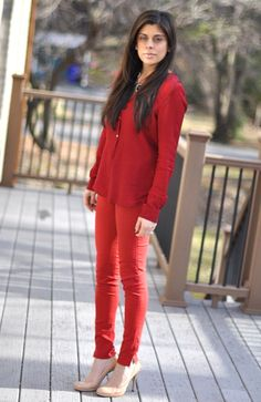 monochromatic means one ireferd to the tints, tones shade of one color.  shows two tints of red. The colors are to different tint and tone of red. The effect on body is that its warm and exciting and yes it does draw attension with the two same hues a bright red and dull looking red.