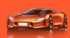 Alan Derosier - Transportation design: Nobrand car