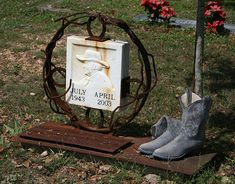Great headstone for a cowboy