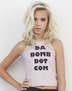 "Clothes ~ Tops ~ ""Da Bomb Dot Com"" T-Shirt"