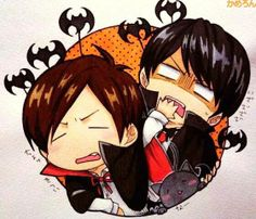 Ono Daisuke and Kamiya Hiroshi Their so cute!