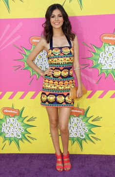 d1041253229a Victoria Justice wore an Indian designer