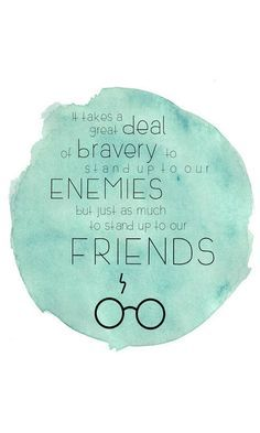 Harry Potter Quote | It Takes a Great Deal of Bravery to Stand Up to Our Enemies | Instant, Digital Print | Albus Dumbledore | 8x10, 11x14 #harrypotter #wordsofwisdom #affiliate