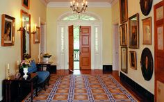 Entry Hall - Oak Alley