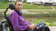 En traversant l'Atlantique, Jean d'Artigues veut apporter de l'espoir aux malades mais aussi aux chercheurs qui ne trouvent pas de traitement à la maladie de Charcot.