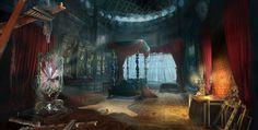 bedroom beast deviantart beauty fantasy gothic fan castle room rose enchanted deviant dark bedrooms decor wizard cabin furniture digital romantic