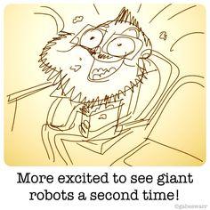I love me some robots