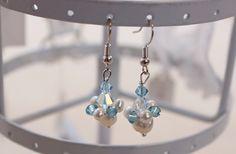 Ohrringe DIY Something Blue « im Hochzeitsfieber
