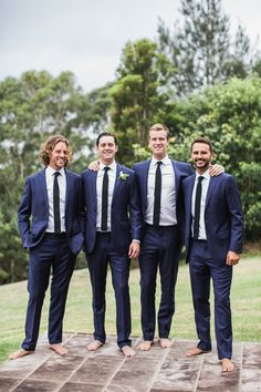 Photography : Lifestories Wedding Read More on SMP: http://www.stylemepretty.com/australia-weddings/new-south-wales-au/berry/2016/02/02/destination-spring-wedding-in-shades-of-blue/