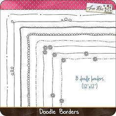 border doodles