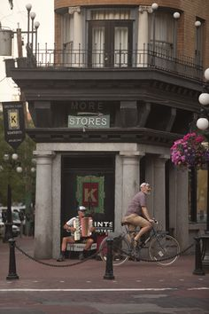 Gastown, Vancouver Great for shopping — lots of independent stores, restaurants and cafes