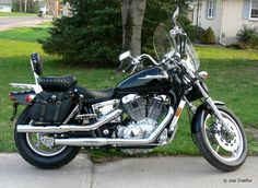 Honda Shadow 1100, Miss mine like crazy, would sure like to have another.