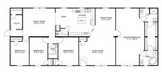 Clayton Homes   Home Floor Plan   Manufactured Homes, Modular Homes, Mobile Homes